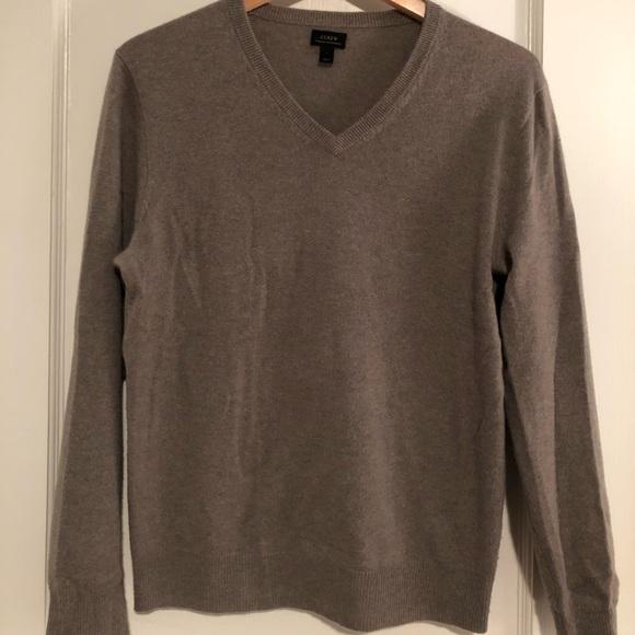 J. Crew Other - JCrew Men's V-Neck Italian cashmere sweater